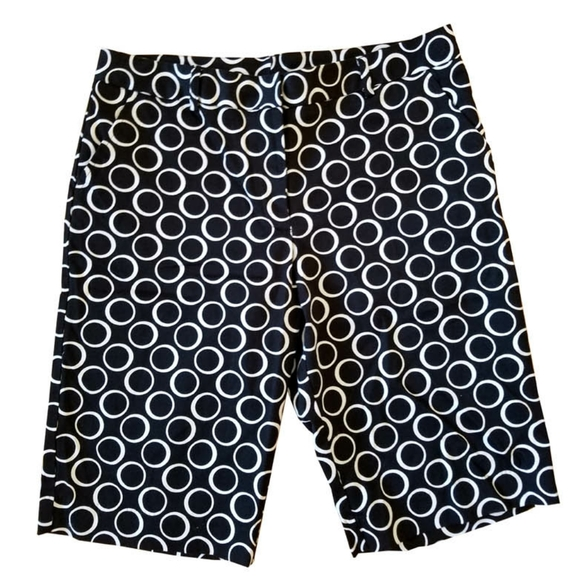 NY Collection Pants - NY Collection Circles Shorts